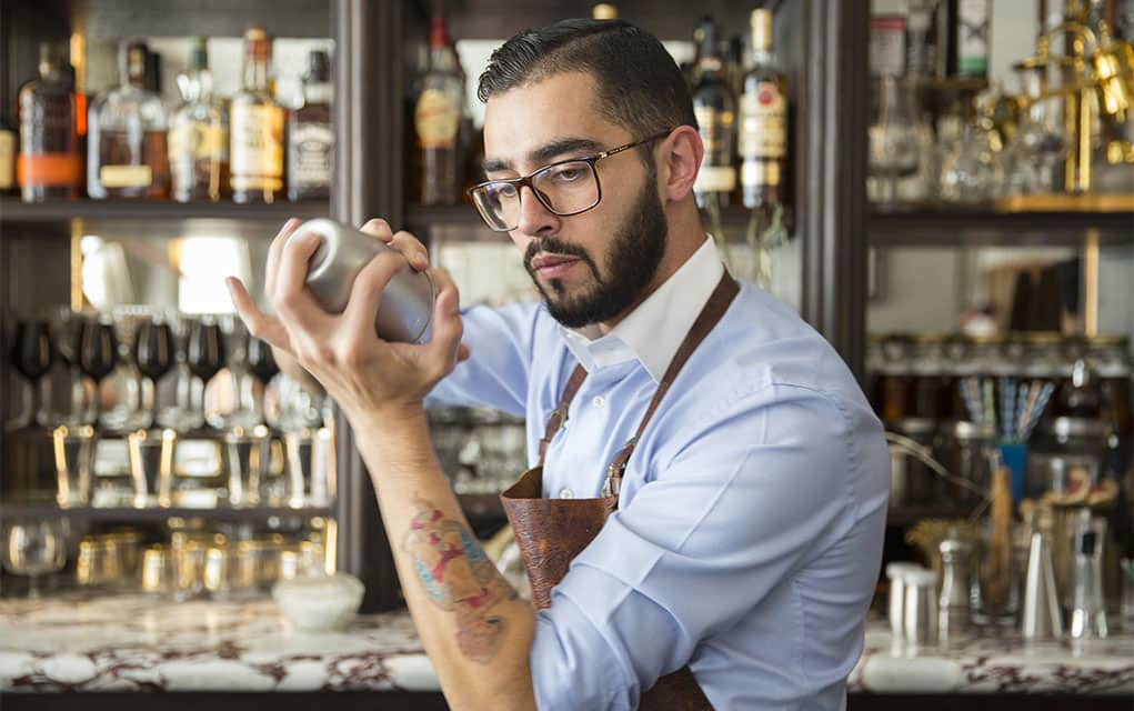 hire a barman London